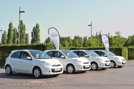 Nissan Micra DIG-S Prueba en Berlín