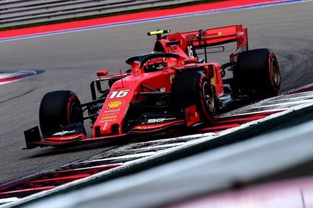 Leclerc Rusia F1 2019 2