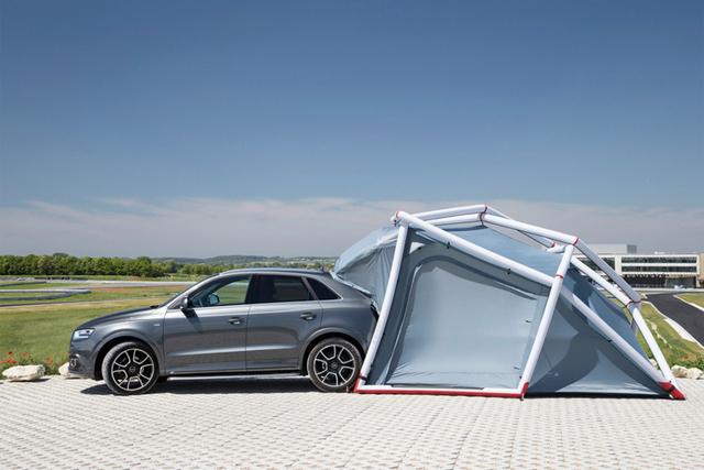 Foto de Audi Q3 Camping Tent (1/6)