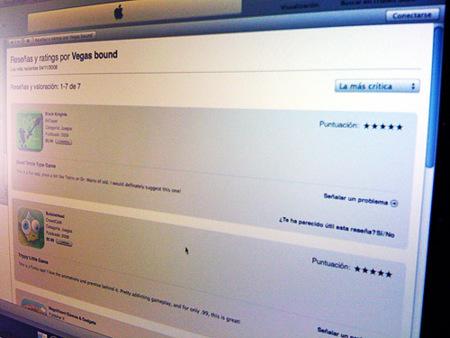 Problemas en la App Store: ¿Fraude por comentarios falsos y spyware?