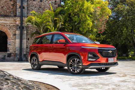 Chevrolet Captiva 2022 Primer Acercamiento Mexico Prueba Opiniones 35