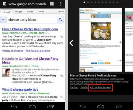 Google Keep leak
