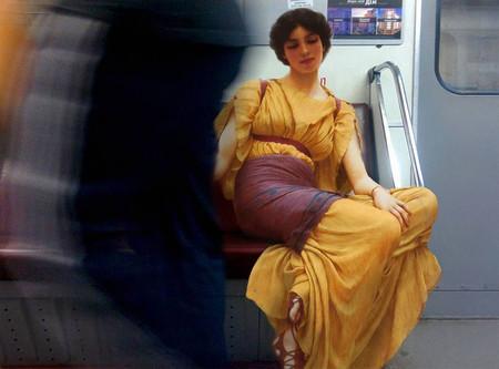 Idleness en el metro.
