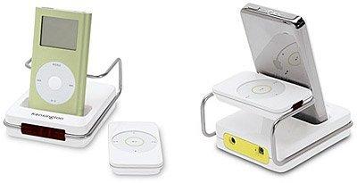 Del iPod al sistema HiFi con Kensington Stereo Dock