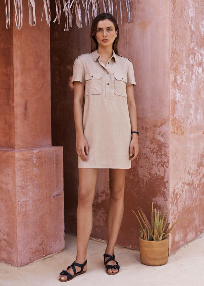Mango, catálogo verano 2014 con Andreea Diaconu