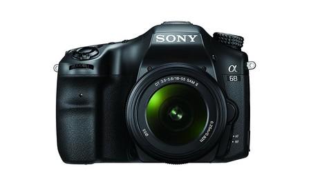 Alpha 68, una peculiar reflex de Sony que esta mañana en Mediamarkt sólo cuesta 450 euros