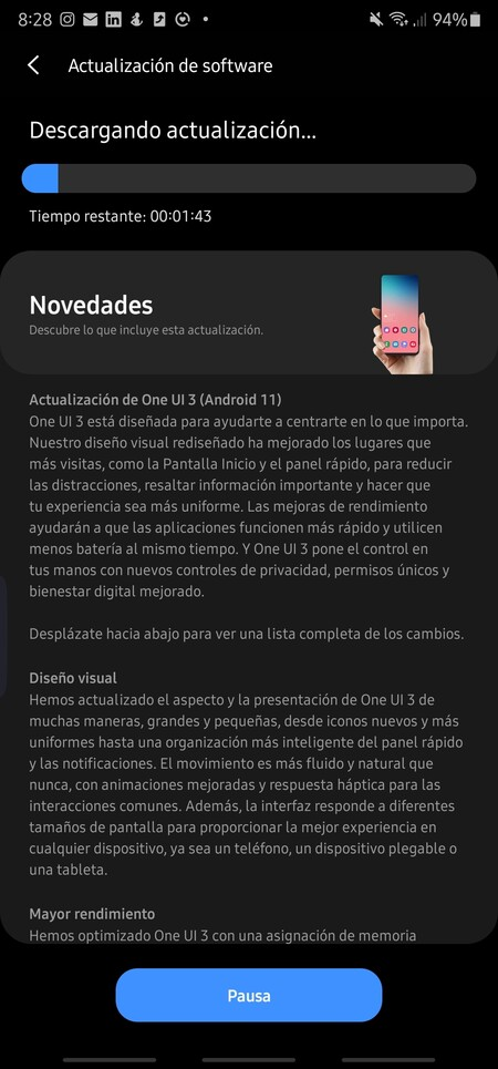 Android 11 Note 20 Ultra