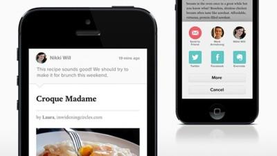 Pocket cumple un año y lo celebra mejorando la opción de compartir por correo