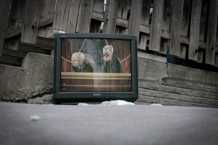 Foto de Televisiones Abandonadas, por Alex Beker (11/14)