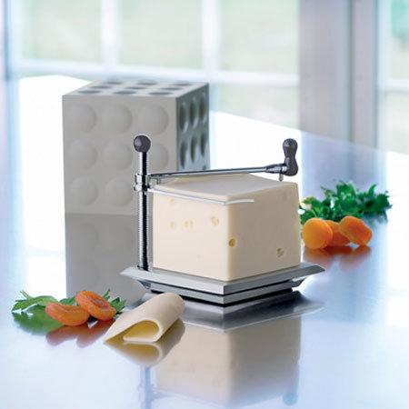 Corta tu queso de manera uniforme