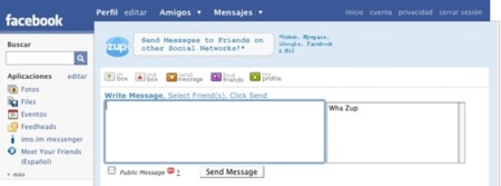 Zup, el buzón de mensajes privados unificado para algunas redes sociales
