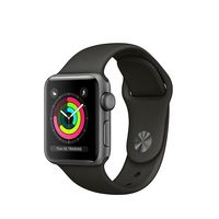 Chollo: el Apple Watch Series 3 Sport de 38mm en negro, está rebajado en Amazon en 60 euros