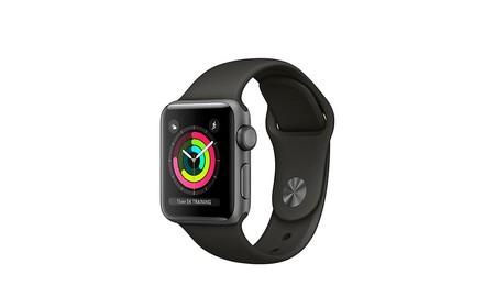 Chollo: el Apple Watch Series 3 Sport de 38mm en negro, está rebajado en Amazon en 60 euros