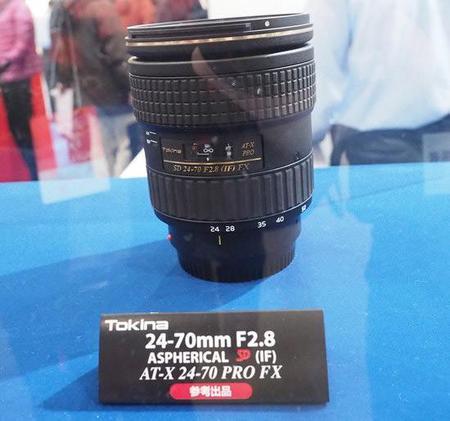 Tokina ha presentado su interesante óptica AT-X 24-70 mm f/2.8 PRO FX para cámaras Full Frame