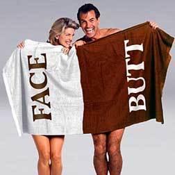 Butt Face Towel, la toalla con límites