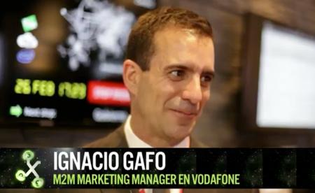 """""""El M2M ya está aquí, hay 2.5 millones de SIMS instaladas en España"""", Ignacio Gafo de Vodafone"""