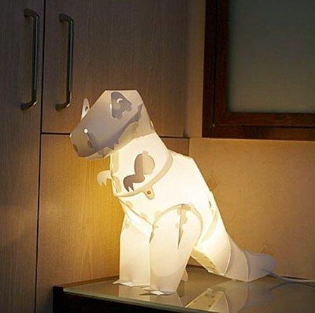 Construye tu propio dinosaurio luminoso