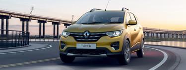 El Renault Triber va por Avanza: 3.9 metros de largo, 7 plazas y motor de Kwid