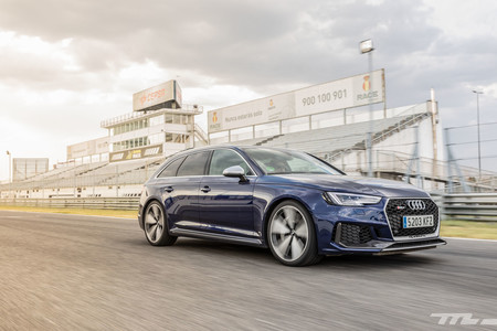 Audi RS4 2018 Prueba 12