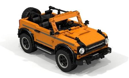 El primer Ford Bronco con piezas de LEGO: ¡Ya se habían tardado!