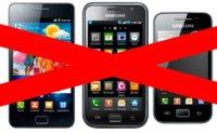 Se prohíbe la venta del Samsung Galaxy S II en Holanda