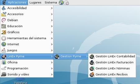 LinExPYME, paquete completo de software libre para pymes