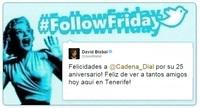#FollowFriday de Poprosa: Premios Cadena Dial, estrenos y otros momentazos