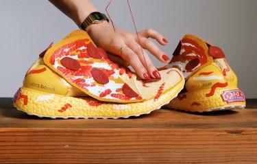 Adidas ha convertido en deportivas nuestras comidas favoritas, ¡qué aproveche!