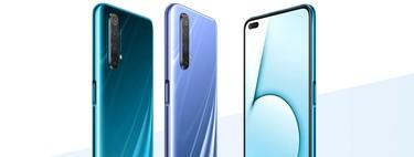 """Realme X50 5G: llega el 5G """"barato"""" con un móvil potente, de gran pantalla y con seis cámaras en total"""