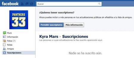 Facebook permite ahora suscribirse a las actualizaciones de un usuario sin tener que agregarlo
