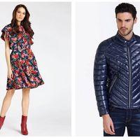 Hasta 60% de descuento en Guess: cazadoras, vestidos o jerseys para hombre y mujer muy rebajados