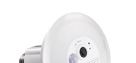 TRENDnet TWC-L10, una cámara de vigilancia con bombilla LED pensada para pasar desapercibida