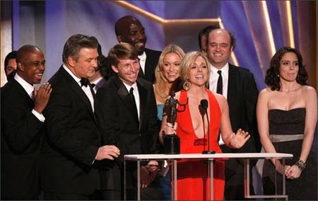 '30 Rock' y 'John Adams' arrasan en los premios del Sindicato de Actores