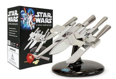 Soporte para cuchillos X-Wing y que la fuerza te acompañe