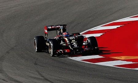 Romain Grosjean Usa 2014