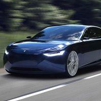 Este Fresco Reverie es el primer coche eléctrico noruego: una especie de Tesla Model 3 que llegará en 2021