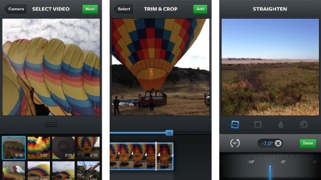 Instagram añade importación y edición (mínima) de vídeos: ¿reaccionará Vine?