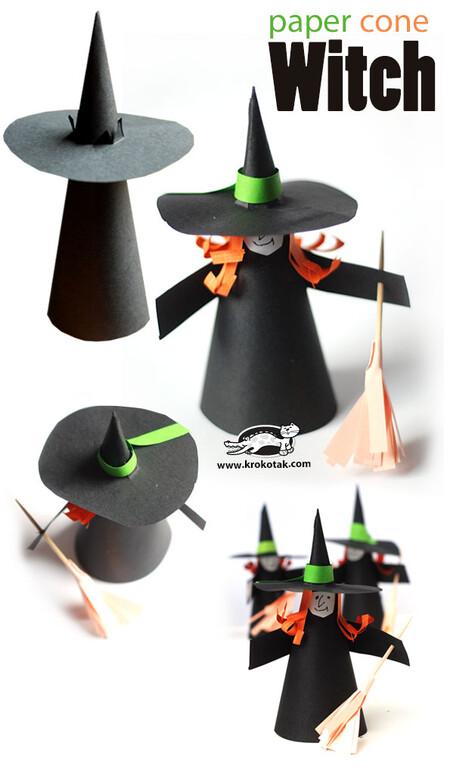 Manualidades Halloween Papel 11
