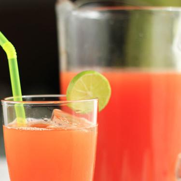 Agua fresca de papaya y limón. Receta