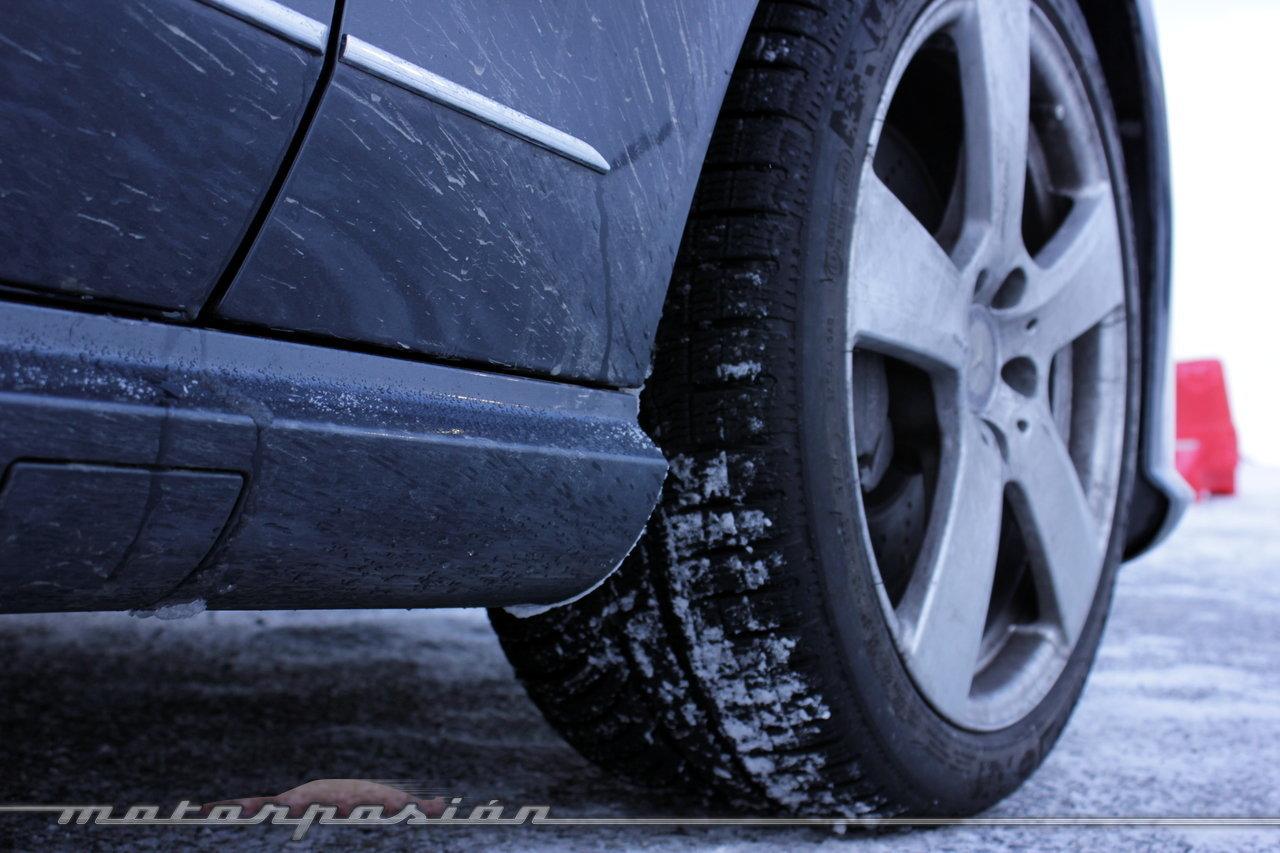 Foto de Michelin Pilot Alpin y Michelin Latitude Alpin, Experiencia 4Matic (4/27)