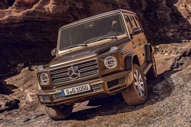 Así luce el nuevo Mercedes-Benz Clase G en las primeras imágenes filtradas