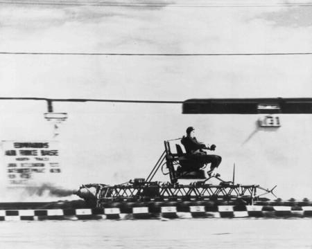 Rocket Sled Track