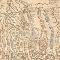 La corriente del tiempo: el mapa de 1803 que aspiraba a resumir toda la historia de la humanidad