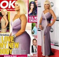 Ese culo que han puesto a Christina Aguilera no es nomal, ¡parece Omaita!