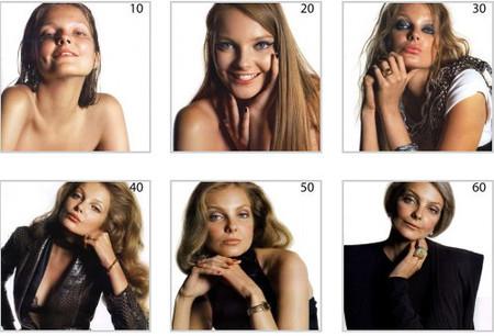 De 10 a 60 años, en una sesión de fotos