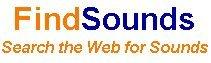 Busca archivos de audio con Findsounds