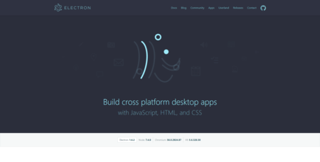 Electron Build Cross Platform Desktop Apps With Javascript Html And Css