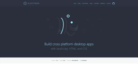 Electron Build Cross Platform Desktop Apps With Javascript Html And Css