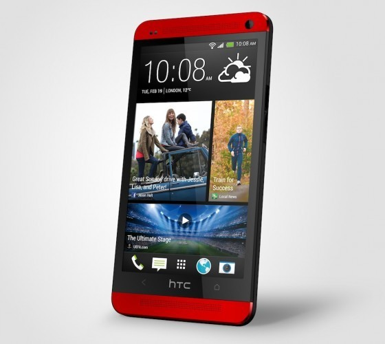 HTC One rojo