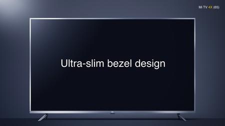 Mi TV 4X, el nuevo televisor premium de Xiaomi llega con hasta 65 pulgadas, Android, 4K HDR y sonido Dolby desde 316 euros